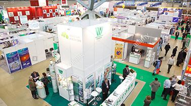 Tiantai biolife plastic participa en una exposición en 2018