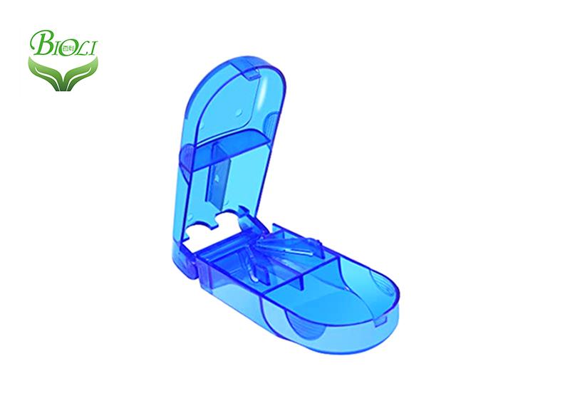 pastillero de plástico / cortador de tabletas médicas y trituradora de almacenamiento splitters-trituradora