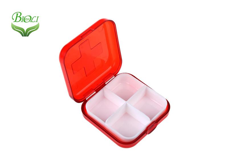 Organizador de pastillas con cajas de pastillas diarias extraíbles