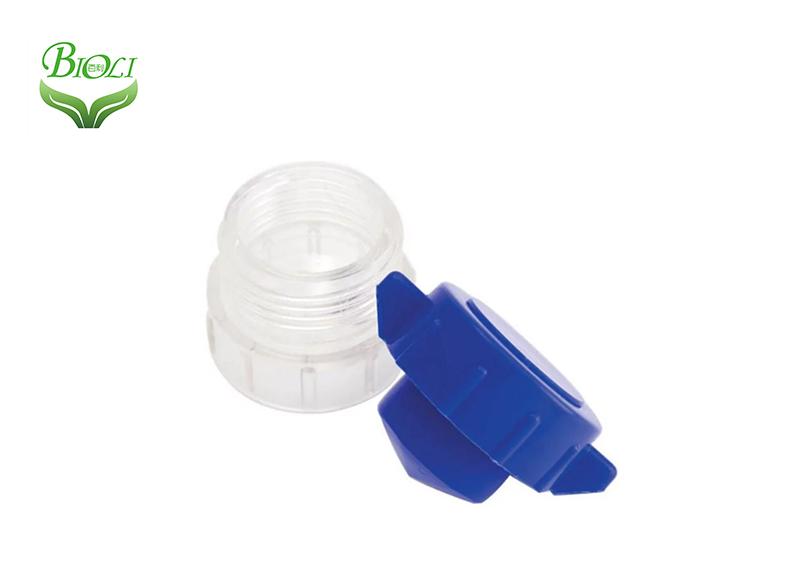 Trituradora de píldora médica para cuidado personal, trituradora de píldora redonda con contenedor